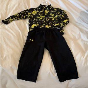 Under Armour track suit Boys size 2T